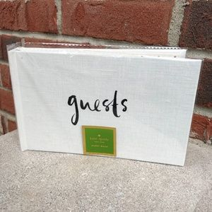 Kate Spade Well Wishes Guest Book
